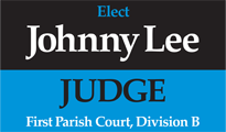 Johnny Lee for Judge